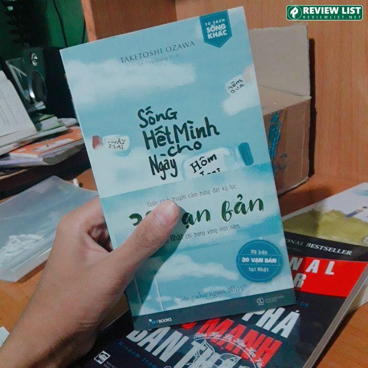 Review Sách - Sống Hết Mình Cho Ngày Hôm Nay - Taketoshi Ozawa